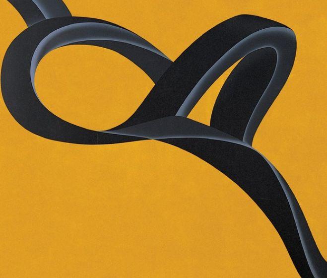 Toshihiro Hamano: Mű 2003-2 Alkony, 2003, szitanyomat