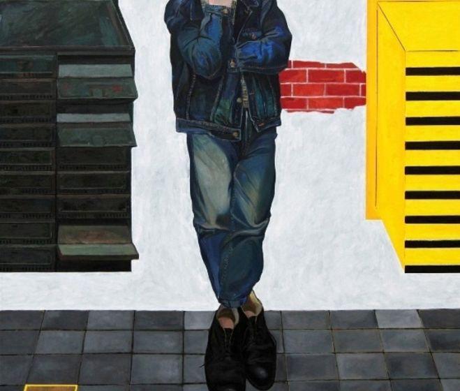 Wojciech Szybist, Átváltozás, 2013, olaj, vászon, 160 x 150 cm