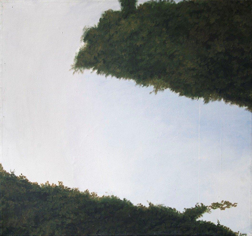 Bernát András, Fenn lenn, 1985, olaj, vászon