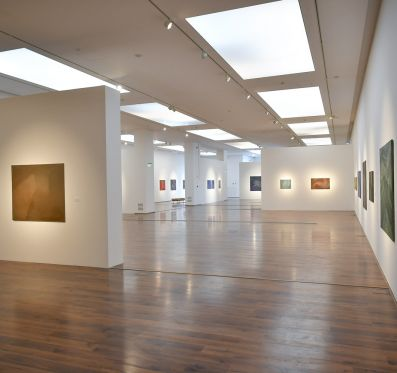 Retrospective exhibition of András Bernát