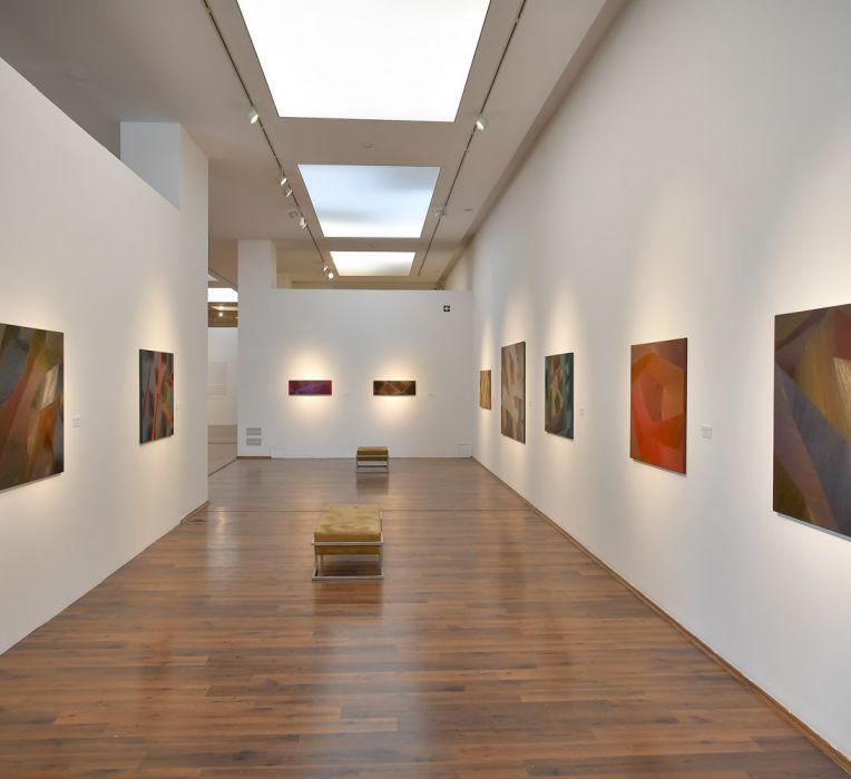 A táj konfigurációja című kiállítás