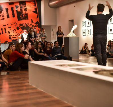Designed Artwork, guided tour