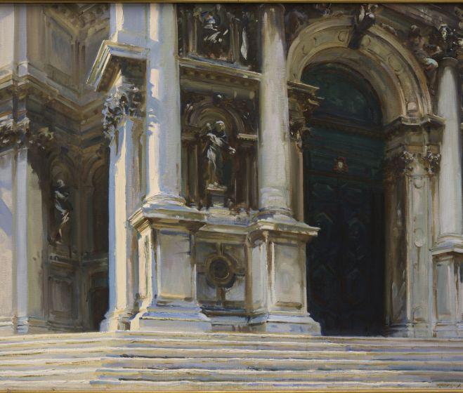 John Singer Sargent, Santa Maria Della Salute, 1909, olaj, vászon, 101 x 71 cm
