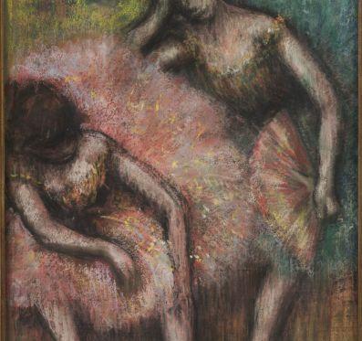 Művészettörténészek Degas Két táncosáról