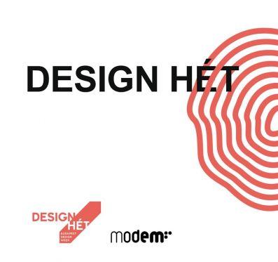 Design vásár és workshop a MODEM-ben!