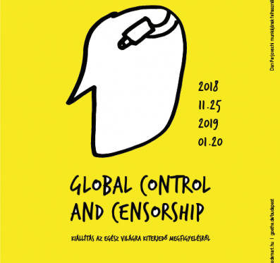 Global Control and Censorship. Busz a megnyitóra