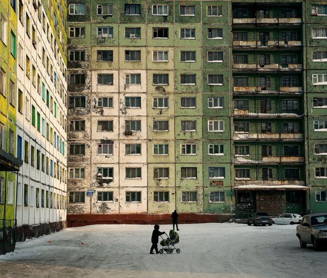Elena Chernyshova, Éjszakai nappalok, nappali éjszakák, fotósorozat (részlet) 2011