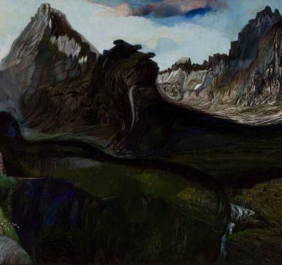 Csontváry, paint mapping és a nagy Tarpatak völgye a Tátrában
