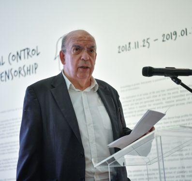 Peternák Miklós beszéde a GLOBAL CONTROL megnyitóján